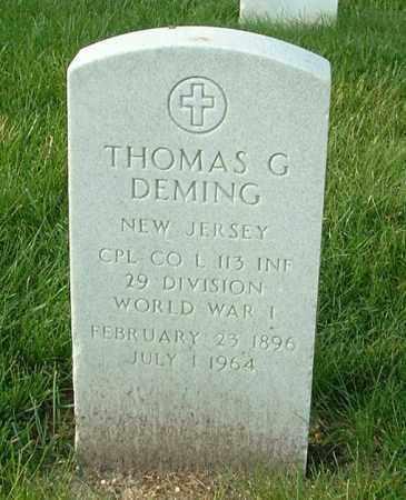 DEMING, THOMAS G - Henrico County, Virginia | THOMAS G DEMING - Virginia Gravestone Photos