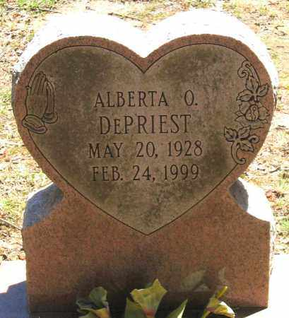 DEPRIEST, ALBERTA O. - Henrico County, Virginia | ALBERTA O. DEPRIEST - Virginia Gravestone Photos