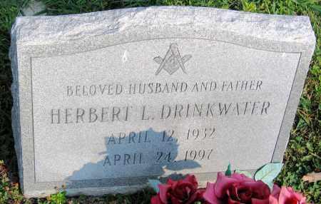 DRINKWATER, HERBERT L. - Henrico County, Virginia | HERBERT L. DRINKWATER - Virginia Gravestone Photos