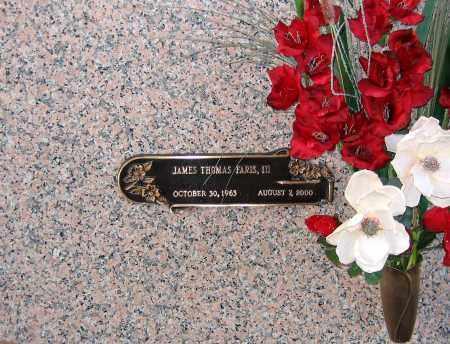 FARIS, JAMES THOMAS III - Henrico County, Virginia | JAMES THOMAS III FARIS - Virginia Gravestone Photos