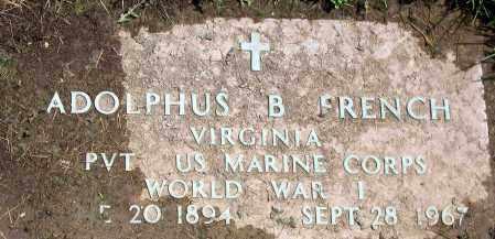 FRENCH, ADOLPHUS B. - Henrico County, Virginia | ADOLPHUS B. FRENCH - Virginia Gravestone Photos