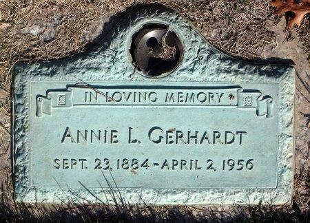 GERHARDT, ANNIE L. - Henrico County, Virginia   ANNIE L. GERHARDT - Virginia Gravestone Photos