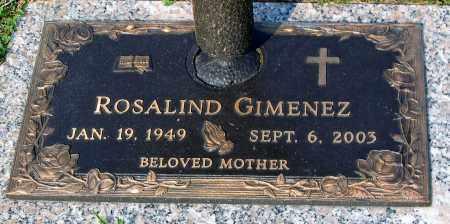 GIMENEZ, ROSALIND - Henrico County, Virginia   ROSALIND GIMENEZ - Virginia Gravestone Photos