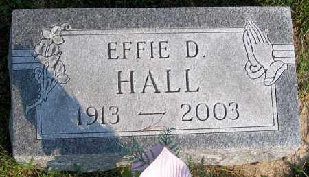 HALL, EFFIE D. - Henrico County, Virginia   EFFIE D. HALL - Virginia Gravestone Photos