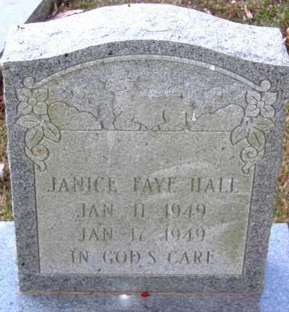 HALL, JANICE FAYE - Henrico County, Virginia | JANICE FAYE HALL - Virginia Gravestone Photos