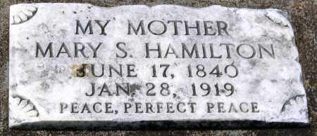 HAMILTON, MARY S. - Henrico County, Virginia   MARY S. HAMILTON - Virginia Gravestone Photos