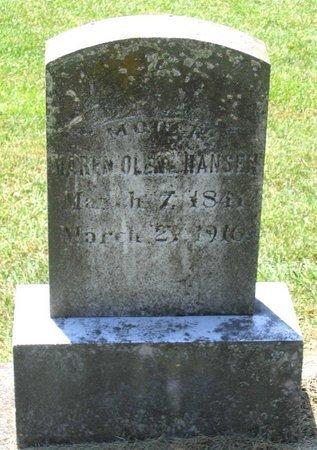 HANSEN, MAREN OLENE - Henrico County, Virginia   MAREN OLENE HANSEN - Virginia Gravestone Photos