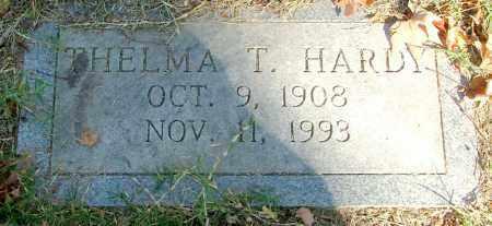 HARDY, THELMA T. - Henrico County, Virginia   THELMA T. HARDY - Virginia Gravestone Photos