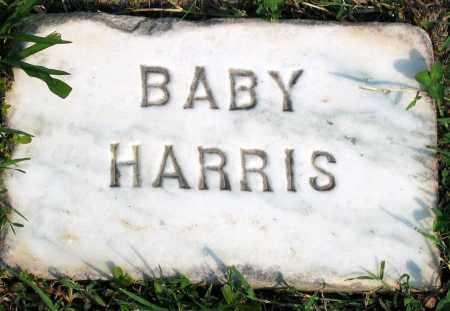 HARRIS, BABY - Henrico County, Virginia | BABY HARRIS - Virginia Gravestone Photos