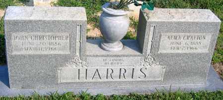 CRAFTON HARRIS, ALMA - Henrico County, Virginia | ALMA CRAFTON HARRIS - Virginia Gravestone Photos