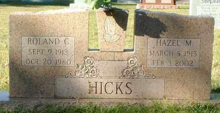 HICKS, ROLAND C. - Henrico County, Virginia   ROLAND C. HICKS - Virginia Gravestone Photos