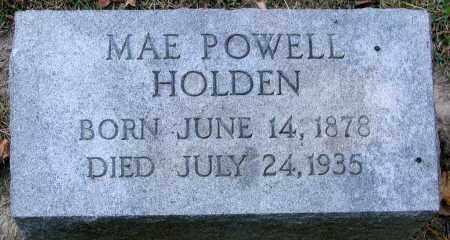 HOLDEN, MAE POWELL - Henrico County, Virginia | MAE POWELL HOLDEN - Virginia Gravestone Photos