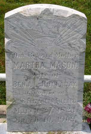 HOLLADAY, MARTHA MASON - Henrico County, Virginia | MARTHA MASON HOLLADAY - Virginia Gravestone Photos