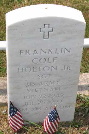 HOLTON, FRANKLIN COLE JR. - Henrico County, Virginia | FRANKLIN COLE JR. HOLTON - Virginia Gravestone Photos