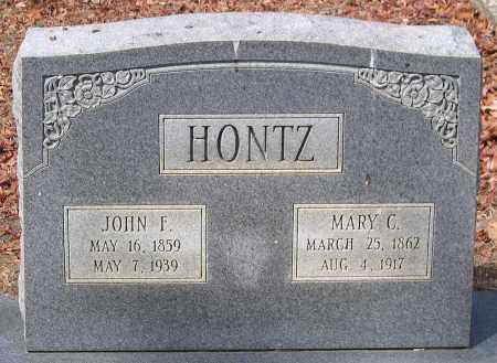HONTZ, JOHN F. - Henrico County, Virginia | JOHN F. HONTZ - Virginia Gravestone Photos