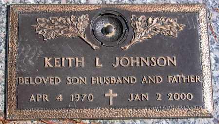 JOHNSON, KEITH L. - Henrico County, Virginia | KEITH L. JOHNSON - Virginia Gravestone Photos