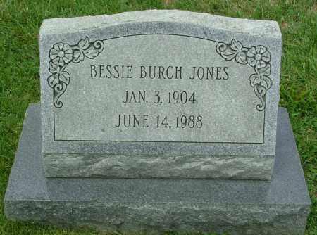 JONES, BESSIE BURCH - Henrico County, Virginia | BESSIE BURCH JONES - Virginia Gravestone Photos
