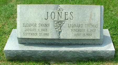 JONES, ELEANOR SWANN - Henrico County, Virginia | ELEANOR SWANN JONES - Virginia Gravestone Photos