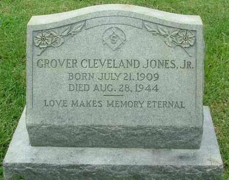 JONES, GROVER CLEVELAND  JR. - Henrico County, Virginia | GROVER CLEVELAND  JR. JONES - Virginia Gravestone Photos
