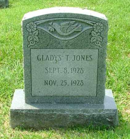 JONES, GLADYS T. - Henrico County, Virginia   GLADYS T. JONES - Virginia Gravestone Photos