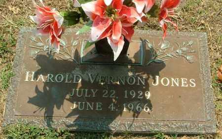 JONES, HAROLD VERNON - Henrico County, Virginia   HAROLD VERNON JONES - Virginia Gravestone Photos