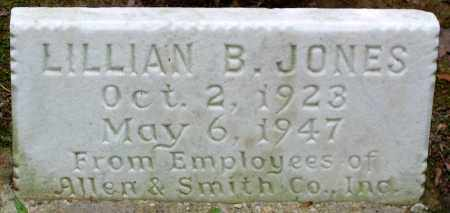 JONES, LILLIAN B. - Henrico County, Virginia | LILLIAN B. JONES - Virginia Gravestone Photos