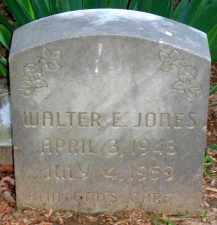 JONES, WALTER E. - Henrico County, Virginia   WALTER E. JONES - Virginia Gravestone Photos