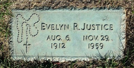 JUSTICE, EVELYN R. - Henrico County, Virginia | EVELYN R. JUSTICE - Virginia Gravestone Photos