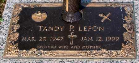 LEFON, TANDY P. - Henrico County, Virginia | TANDY P. LEFON - Virginia Gravestone Photos