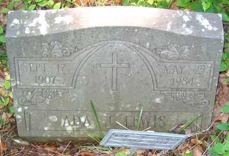 LEWIS, ADA J. - Henrico County, Virginia | ADA J. LEWIS - Virginia Gravestone Photos