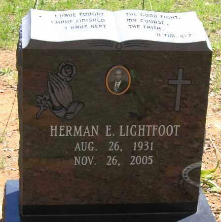 LIGHTFOOT, HERMAN E. - Henrico County, Virginia | HERMAN E. LIGHTFOOT - Virginia Gravestone Photos