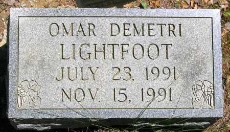 LIGHTFOOT, OMAR DEMETRI - Henrico County, Virginia | OMAR DEMETRI LIGHTFOOT - Virginia Gravestone Photos