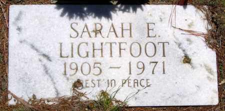 LIGHTFOOT, SARAH E. - Henrico County, Virginia   SARAH E. LIGHTFOOT - Virginia Gravestone Photos