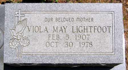LIGHTFOOT, VIOLA MAY - Henrico County, Virginia | VIOLA MAY LIGHTFOOT - Virginia Gravestone Photos