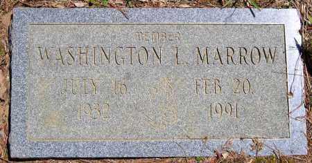 MARROW, WASHINGTON L. - Henrico County, Virginia | WASHINGTON L. MARROW - Virginia Gravestone Photos