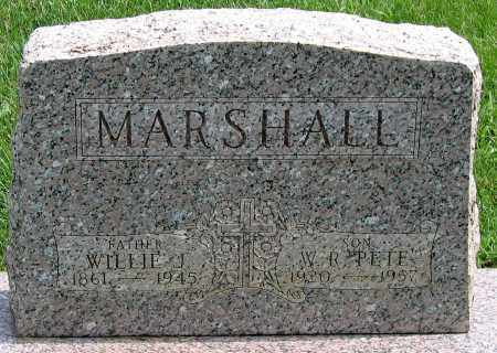 MARSHALL, W. R. 'PETE' - Henrico County, Virginia | W. R. 'PETE' MARSHALL - Virginia Gravestone Photos