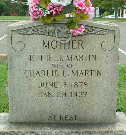 MARTIN, EFFIE J. - Henrico County, Virginia | EFFIE J. MARTIN - Virginia Gravestone Photos