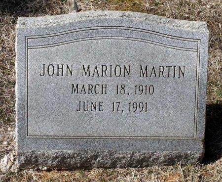 MARTIN, JOHN MARION - Henrico County, Virginia   JOHN MARION MARTIN - Virginia Gravestone Photos