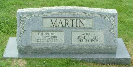 MARTIN, O. LINWOOD - Henrico County, Virginia | O. LINWOOD MARTIN - Virginia Gravestone Photos