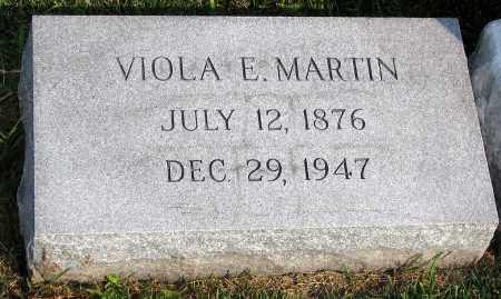 MARTIN, VIOLA E. - Henrico County, Virginia | VIOLA E. MARTIN - Virginia Gravestone Photos