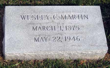 MARTIN, WESLEY C. - Henrico County, Virginia   WESLEY C. MARTIN - Virginia Gravestone Photos