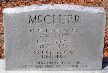 MCCLUER, ROBERT ALEXANDER - Henrico County, Virginia | ROBERT ALEXANDER MCCLUER - Virginia Gravestone Photos
