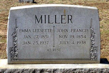 MILLER, JOHN FRANCIS - Henrico County, Virginia | JOHN FRANCIS MILLER - Virginia Gravestone Photos