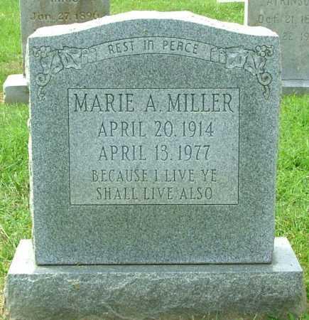 MILLER, MARIE A. - Henrico County, Virginia | MARIE A. MILLER - Virginia Gravestone Photos
