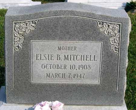 MITCHELL, ELSIE B. - Henrico County, Virginia   ELSIE B. MITCHELL - Virginia Gravestone Photos