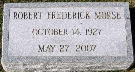 MORSE, ROBERT FREDERICK - Henrico County, Virginia   ROBERT FREDERICK MORSE - Virginia Gravestone Photos