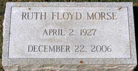 MORSE, RUTH FLOYD - Henrico County, Virginia   RUTH FLOYD MORSE - Virginia Gravestone Photos