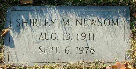 NEWSOM, SHIRLEY M. - Henrico County, Virginia | SHIRLEY M. NEWSOM - Virginia Gravestone Photos