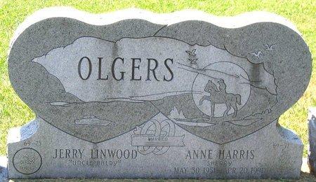 OLGERS, ANNE - Henrico County, Virginia | ANNE OLGERS - Virginia Gravestone Photos