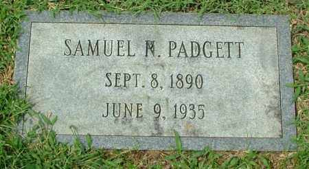 PADGETT, SAMUEL N. - Henrico County, Virginia | SAMUEL N. PADGETT - Virginia Gravestone Photos